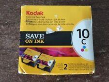 NEW! Kodak COLOR10C Ink Cartridge TWO-PACK