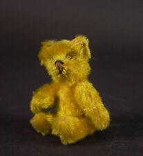 alter Schuco Miniatur Bär - goldgelb