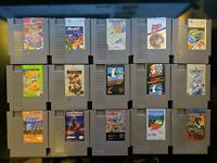 Lot of 15 NES cartridges ( All tested and working )