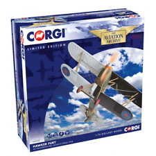 Corgi Aviation Archive 1/72 Scale Hawker Fury 43 Squadron RAF Munich Crisis 1938