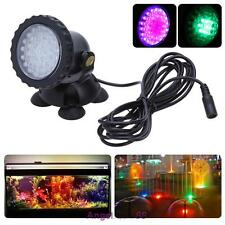 HOT~ Garden Pond Aquarium Submersible Underwater 36 LED Color Changing Light