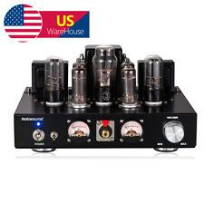 Black 6P1 Vacuum Tube Power Amplifier Hi-Fi Stereo Integrated Headphone Amp