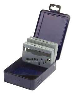 Fortis Metallkassette leer für Spiralbohrer 1 - 10,5 mm 24tlg.