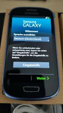 "Samsung Galaxy S III mini, 4"" Smartphone, Blau, 8GB, 16GB mSD, NFC, ohne Simlock"