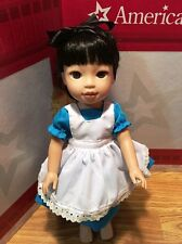 """Fits 14.5"""" American Wellie Wishers Doll Girl CLothes Alice in Wonderland inspire"""