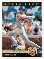Mike Piazza #2 (1993 Upper Deck) Star Rookie Card, Los Angeles Dodgers, HOF