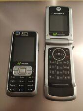 2 Moviles Nokia y Motorola.