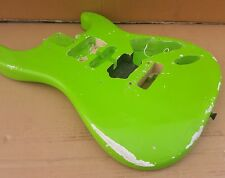 80's LIME GREEN NITRO STR*T BODY - made in USA