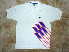 Nike Tennis Challenge Court John tournera Andre Agassi POLO US: L 1991 Vintage