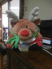 MUSH a BELLY MUSHKIN HOLIIDAY SING ALONG REINDEER NEW WITH TAG