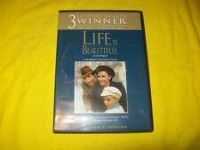 Life Is Beautiful Dvd With Chapter Menu Robert Benigni