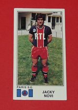 N°255 JACKY NOVI PARIS SAINT-GERMAIN PSG PANINI FOOTBALL 77 1976-1977