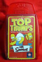The Simpsons - Homer / Bart Simpson - Top Trumps Specials Quartett - NEU