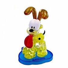 DIY 3D Crystal Puzzle Jigsaw 40 pieces Toys Decoration Garfield's Odie Model _US