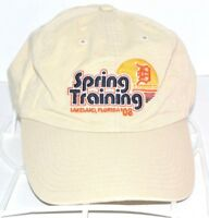 Detroit Tigers Hat Spring Training 2008 Lakeland Florida MLB Baseball Cap