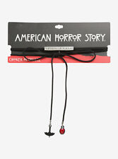American Horror Story: Coven On Wednesdays We Wear Black Cord Choker Necklace