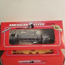 American Flyer 6-49009 FlatCar with Derrick<++>BRAND NEW<++>Original Box<++>