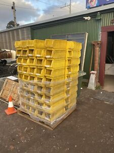 PLASTIC STORAGE TUBS - HEAVY DUTY - STACKABLE