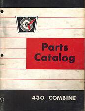 COCKSHUTT 430  COMBINE PARTS  MANUAL
