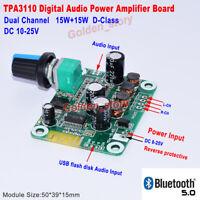DC12V-24V TPA3110 Wireless Bluetooth Audio Receiver Digital Amplifier AMP Board