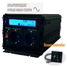 1500/3000 Watt 12V DC to AC 230V 240V Pure Sine Wave Power Inverter Converter