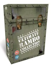 RAMBO ULTIMATE COLLECTION 1 - 4  SERIES 1 2 3 4  UK REGION 2 DVD