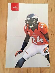 CHAMP BAILEY - Verizon Promo - 11 x 17 NFLPA POSTER Denver Broncos Cornerback