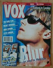 VOX Magazine January 1996 +free tape (Blur, Richey Edwards, Wu-Tang Clan, Queen)