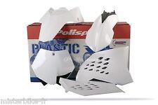 Kit plastiques Coque POLISPORT  KTM 150 SX SX150  09-10 2009-2010 Couleur Blanc