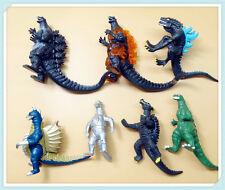 lot 7 Godzilla Monsters Mechagodzilla Trendmaster Gigan Anguirus  Figure
