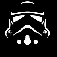 Star Wars Storm Trooper MINIMAL Sticker Vinyl Decal Car Laptop Window Oracal suv