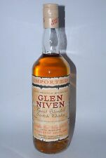 WHISKY GLEN NIVEN FINEST BLENDED SCOTCH WHISKY IMPORTED AÑOS 70 75cl.