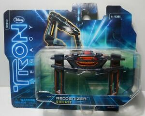 Tron Legacy Movie Collectors Diecast Series 2 RECOGNIZER toy vehicle