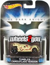 TUMBLER CAMOUFLAGE VERSION - The Dark Knight - Hot Wheels Retro Entertainment