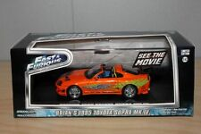 1/43 FAST & FURIOUS COLLECTION BRIAN'S 1995 TOYOTA SUPRA MKIV BY GREENLIGHT
