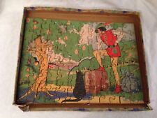Anne Rochester - Victory Dick Whittington Jigsaw Puzzle in Original Box - 1950s
