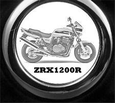 Kawasaki zrx 1200r llavero motocicleta como imagen grabado incl. grabado texto