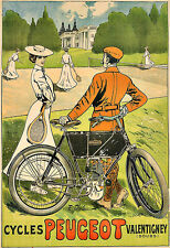 CYCLES PEUGEOT  Cycle Bike bicycle Deco  Poster Print