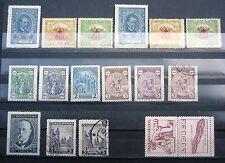 Briefmarken aus Tschechien & der Tschechoslowakei mit Falz