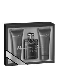 MASSIMO DUTTI IN BLACK  COLONIA 100 ML+GEL 75 ML+BALSAMO 75 ML