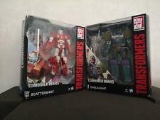 Transformers Generations Combiner Wars Scattershot & Onslaught Hasbro Figures