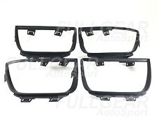 MATTE BLACK TAIL LIGHT BEZEL FRAME COVER 4 PIECES SET FOR CHEVY CAMARO 2010-2013