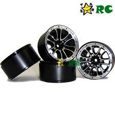 4pcs RC 1/10 1.9'' Alloy Beadlock Wheels rims Fit For RC 4WD 1.9'' Crawler tires