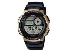 Casio Men's World Time Illuminator Alarm Resin Band 44mm Watch AE1000W-1A3V