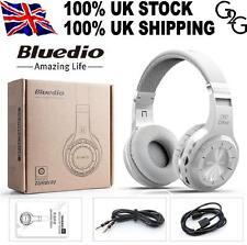 Bluedio H Turbine Bluetooth 4.1 Wireless Stereo FM Headphones Headset White