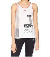 Adidas Womens Active Icon OG  Athletic Tank Top XXS White