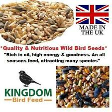 More details for wild bird seed food feed garden all seasons seeds mix feeders bird table 20kg