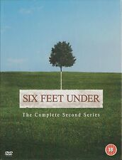SIX FEET UNDER - Series 2. Peter Krause, Michael C Hall (HBO 5xDVD BOX SET 2004)
