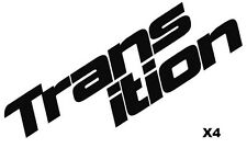 Transition Bike Decals Set of 2 Split DH MTB TR Blindside Freeride