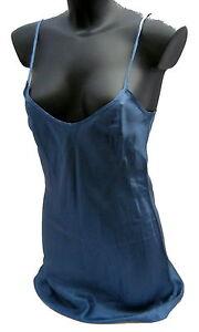 Petticoat Liu Jo Woman Women Tank Top Long Viscose-Acetate Blue Made IN Italy